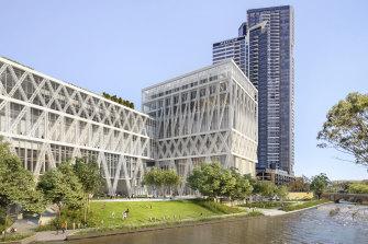 An artist's impression of the Parramatta Powerhouse.