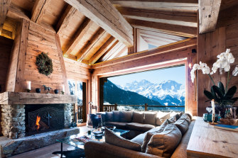 """'We are a holiday resort, not a prison,"""" one hotel worker said. Pictured, Chalet Poinsettia in Verbier."""