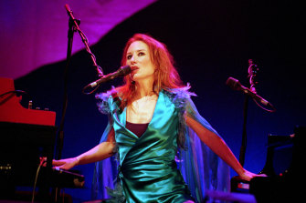 Tori Amos performing in London in 2002.