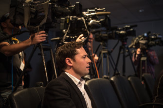 Investigative reporter Nick McKenzie