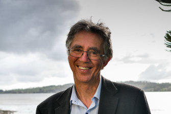 Author, activist and psychologist Steve Biddulph.