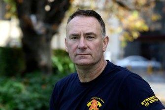Peter Marshall, United Firefighters Union secretary