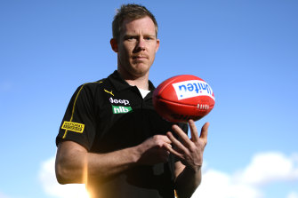 Jack Riewoldt is preparing for his second AFL grand final.