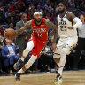 Pelicans end Jazz winning streak at 10