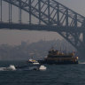 Smoke haze to linger in Sydney until wet spell arrives