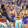 Eagles keep in touch with top two as Crows drop out of the eight