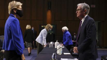 'Dangerous man': Elizabeth Warren opposes Jerome Powell getting second term as Fed chair