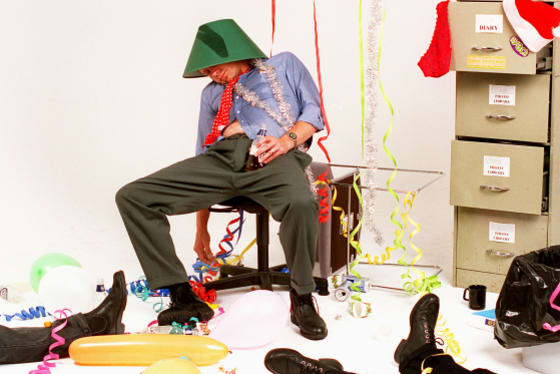 How my plans for a crazy work Christmas party failed so miserably