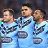 PM tackles the NRL over Origin national anthem and forces a turnover