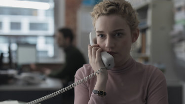 The Assistant is largely a one-woman show built around Julia Garner's performance.