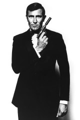 George Lazenby as 007 in the film 'On Her Majesty's Secret Service'.