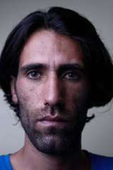 Refugee Behrouz Boochani on Manus Island in 2017.