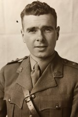 Frank Paine in uniform.