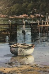 Famous fans: Pittwater by Margaret Wills.