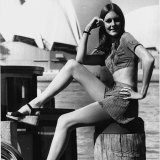 """Hot pants are a feature of the new season's playsuits. "" May 3, 1971."