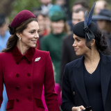 Catherine, Duchess of Cambridge and Meghan, Duchess of Sussex.