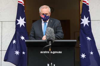 Prime Minister Scott Morrison says NSW's roadmap out of lockdowns is safe and sensible.