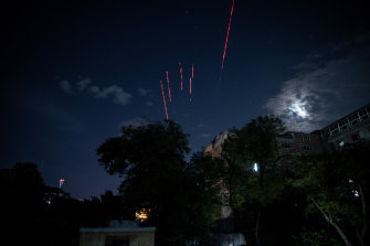 Taliban forces fired tracer rounds early on Tuesday to celebrate the US withdrawal.