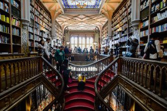 The Livraria Lello book store in Porto, Portugal, is frequently ranked as one of the most beautiful in the world.
