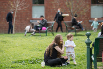 Condell Reserve in Fitzroy, a suburb that has only 2.02 square metres of park per person.