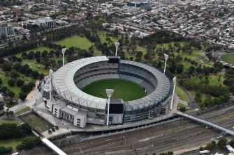 Anyone who attended the match between Collingwood and Port Adelaide on Sunday has been advised to monitor for symptoms.