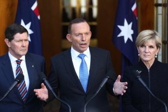 Tony Abbott stopped funding the Climate Council when he became prime minister.