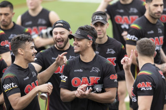 Penrith's grand final berth has been built on a long-term plan and local juniors.