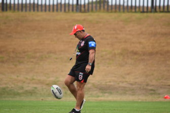 Dragons assistant Shane Flanagan was deregistered in December 2018 for breaching the conditions of his previous year-long ban for his role in the Sharks' supplement scandal.