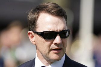 Aidan O'Brien has Anthony Van Dyck and Tiger Moth in this year's Melbourne Cup.