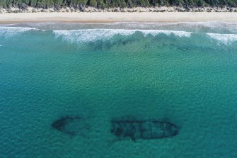 The wreck of Plutus lies in the crystal clear winter waters off Currarong on the NSW South Coast.  Travel between Greater Sydney and regional NSW has been pushed back until 1 November.