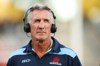 Waratahs coach Rob Penney is under intense pressure.