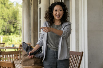 Sandra Oh as Eve Pilastri in the new season of Killing Eve.