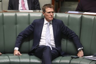 Mr Porter in the House of Representatives this afternoon.