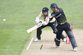 Josh Philippe made 45 off 32 balls in Australia's four-run loss to New Zealand.