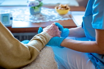 Aged care nurses are leaving their profession.