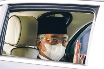 Malaysia's King Sultan Abdullah Sultan Ahmad Shah holds the keys to the country's immediate political future.