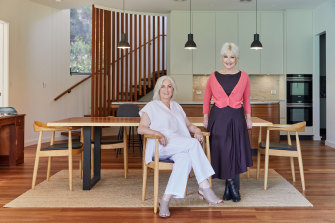 """Fiona O'Loughlin (right) and Sue Underwood: """"I didn't want to waste my time or Sue's ever again  rolling around in the mud of my guilt."""""""
