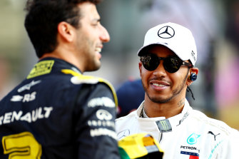 Lewis Hamilton has not yet been re-signed with Mercedes, but it appears to be a formality.