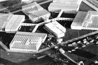 An aerial view of the Jika Jika section of Pentridge Prison.