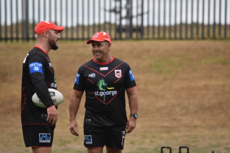 Shane Flanagan worked with Dean Young as an assistant to Paul McGregor at the Dragons in 2020.