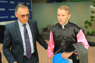 Peter Snowden and Tommy Berry discuss the win of Sancy.