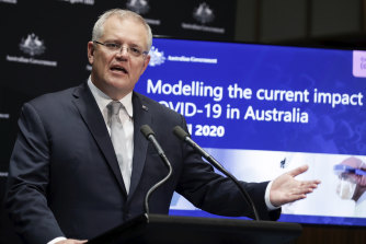 "Prime Minister Scott Morrison says ""pro-growth"" policies will be needed to kick-start the economy after the coronavirus pandemic."