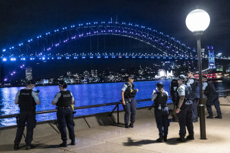 COVID-19 restrictions curtailed 2020 New Year's Eve celebrations on Sydney Harbour.