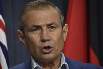 Health Minister Roger Cook has said Perth and Peel will go back into restrictions.