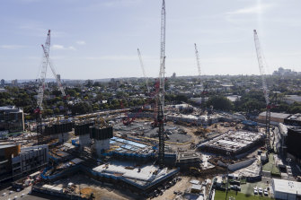 Unions fear workers could be locked out of real pay rises for years on big construction projects such as for stadiums.