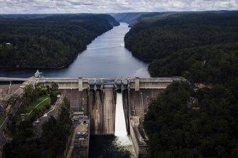 Warragamba Dam, the largest water supply dam in Australia, supplies 3.4 million people.