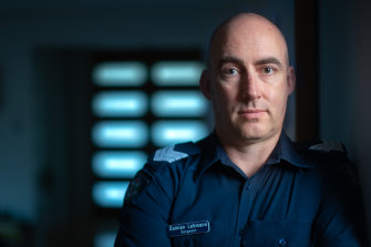 Sergeant Damian Lehmann pushed for a coronial investigation into the suicide of seven women of South Asian background in Whittlesea.