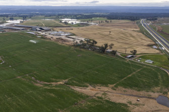 Leppington Pastoral Company owned the land next to the new Western Sydney Airport, which the government bought for $30 million.