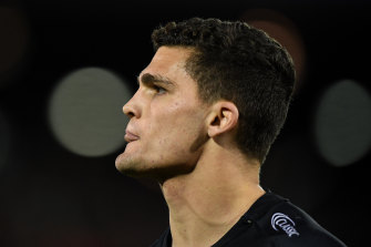 Embattled Penrith Panthers and NSW star Nathan Cleary.