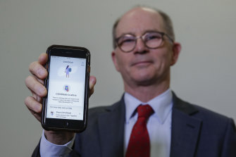 Deputy Chief Medical Officer Professor Paul Kelly helped to launch the COVIDSafe app.